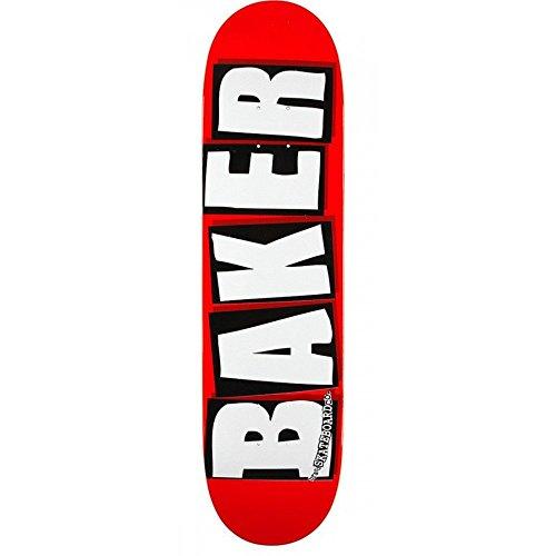 BAKER DECK BRAND LOGO WHITE 8.125