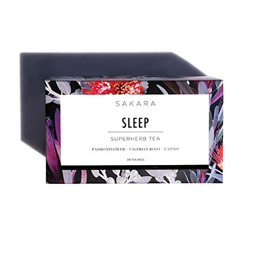 Sakara Superherb Herbal Tea for Sleep and Relaxation 20pk