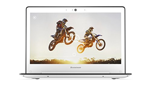 Lenovo U31-70 (BDW) 33,8 cm (13,3 Zoll) Laptop (Intel Core i5-5200U, 8GB RAM, 256GB SSD, NVIDIA GeForce 920 A, Win 10 Home) weiß