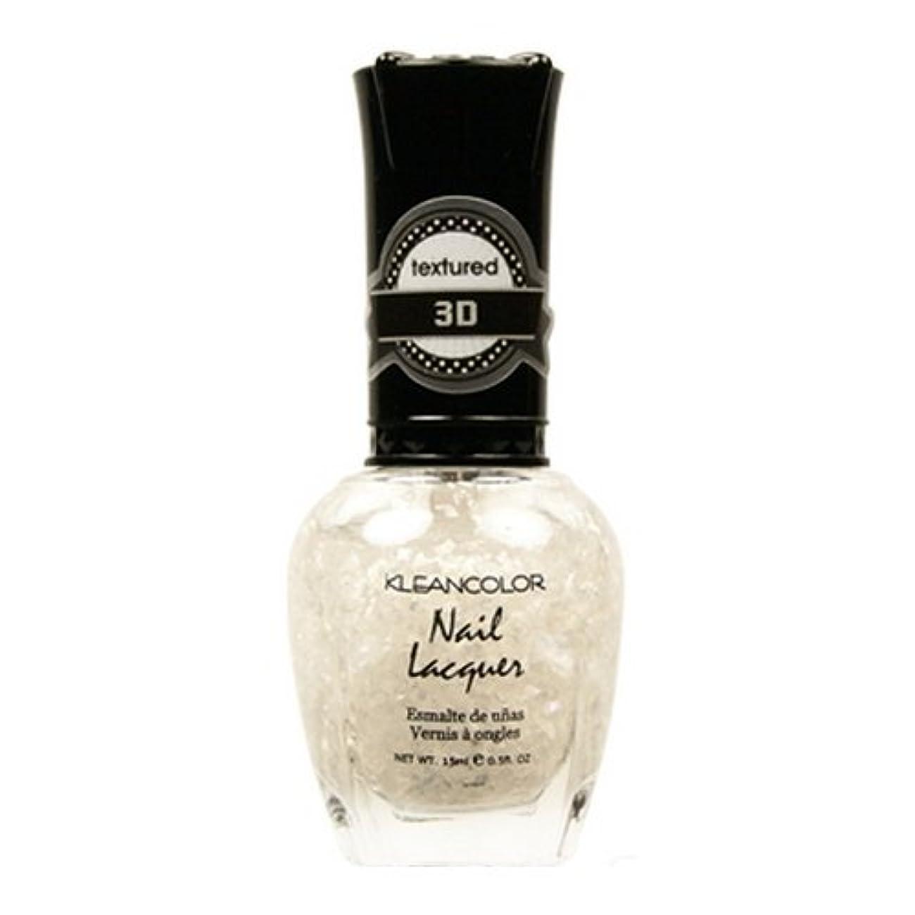 死んでいる信じる信じる(6 Pack) KLEANCOLOR 3D Nail Lacquer - Sugar Cravings (並行輸入品)