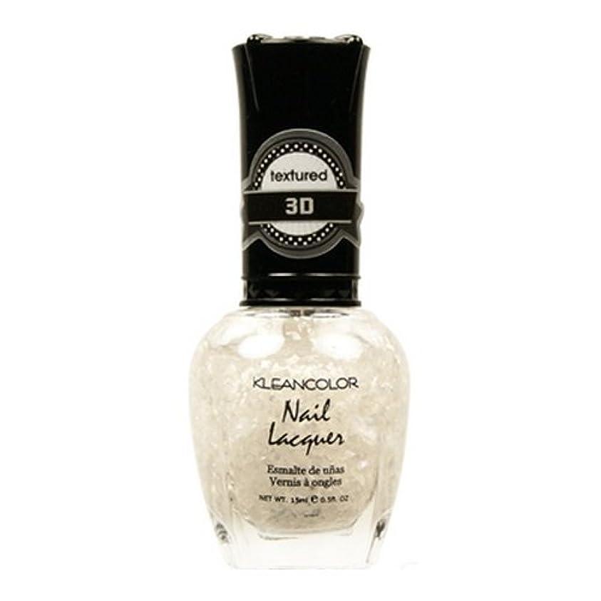 独裁者影響を受けやすいです上(3 Pack) KLEANCOLOR 3D Nail Lacquer - Sugar Cravings (並行輸入品)