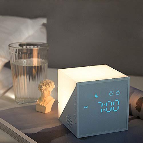 Kinder LED Wecker, Lichtwecker Kinderwecker mit LCD-Display