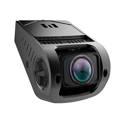 LEVIN Dash Cam, Discreet Design High Temperature Resistance 1080P FHD 170° Wide Angle Lens with Night Vision G-Sensor Loop Recording and LCD Screen