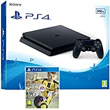 Sony PlayStation 4 Slim 500GB With FIFA 17 (PS4)