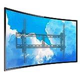 unho Soporte para Televisores con Pantalla Curva, Soporte de TV en Pared para 26-75 Pulgadas LED LCD, Inclinable y Giratorio, Carga Máx 45kg VESA 700 x 400