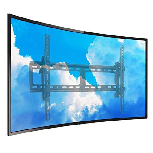 unho Curved TV Wall Mount:Fixed TV Bracket Tilt Swivel for 26'- 75' LED LCD...