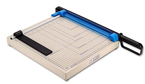 NEWTRY 裁断機 ペーパーカッター A4サイズ対応 オフィス用品 写真・名刺・スチール・PVC銅板金属裁断 業務用 SL−A4