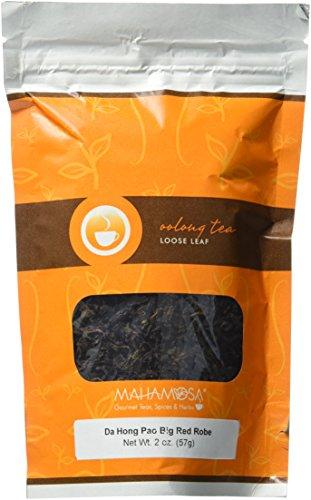Mahamosa Da Hong Pao Big Red Robe Tea 2 oz - Loose Leaf Chinese Oolong Tea
