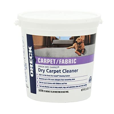 Oreck Dry Carpet Cleaner - 9 lbs pail