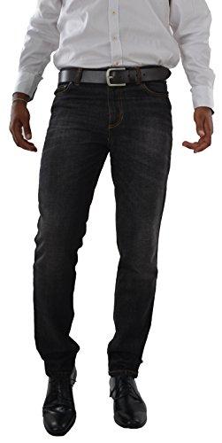 Marken Outlet Kriftel -  Jeans - Straight - Uomo Nero Black Jeans