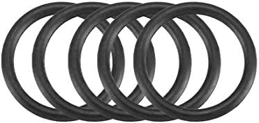 YeVhear 50 stuks zwarte nitrilbutadieenrubberen afdichting NBR 115 mm binnendiameter 15 mm breedte