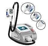 NANXCYR Body Slimming Machine Freeze Slimming Machine Cryolipolysis Fat Lipolysis Instrument Frozen Burst Fat Slimming Instrument with 3 Handles