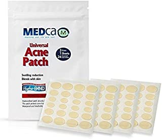 Sponsored Ad - Acne Absorbing Covers - Hydrocolloid Acne Care Bandages (96 Count) 3 Universal Patch Sizes, Acne Blemish Tr...