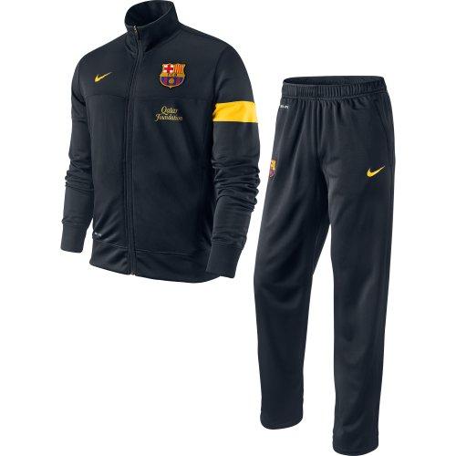 Nike Tuta F.C.Barcellona Tuta da Panchina Sideline II Ufficiale Taglia L
