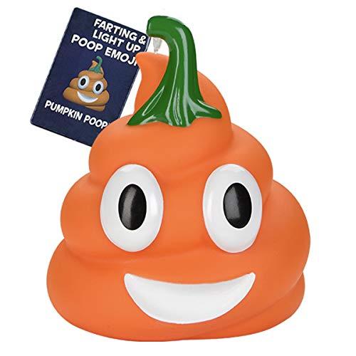 Pumpkin Poop Emoji Toy