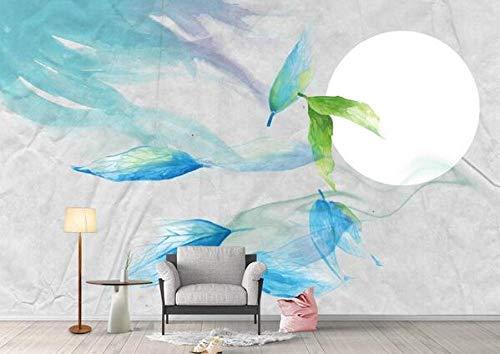 Modern fotobehang met foto, decoratie voor slaapkamer, woonkamer, bibliotheek en kantoor van de maanposter. 200cmx140cm