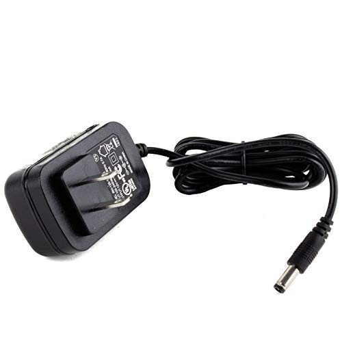 MyVolts 12V Power Supply Adaptor Compatible with ZT Lunchbox Junior Amplifier - US Plug