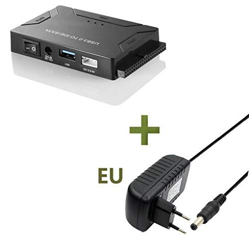 Morza Universal USB 3.0 al Adaptador de Unidad de Disco Duro SATA/IDE convertidor Duro Externo Drive Adapter Kit 2.5/3.5 Pulgadas