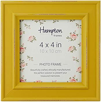 Cheap Home Hampton Frames Paloma Distressed Square Picture Photo Frame Mustard Yellow 4x4 Compare Prices For Cheap Home Prices