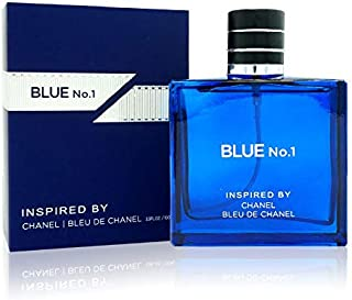 Watermark Beauty Blue No.1 Cologne for Man 100 ML Inspired By Bleu De C H A N E L