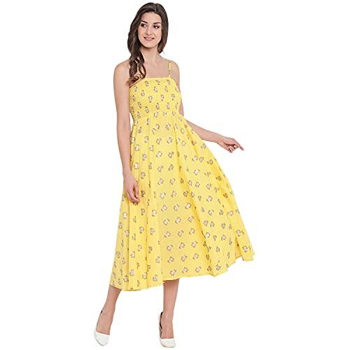 Rajkanya Cotton Printed Bobbin Gown for Girls and Women (AM021)