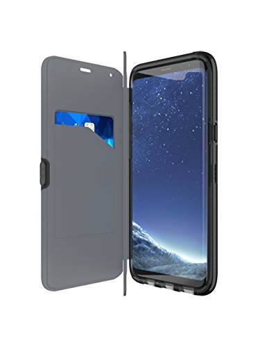 Tech 21 Impact Shield Anti-Glare Screen Protector voor Brixton, Evo Portemonnee, S8 Plus, Zwart