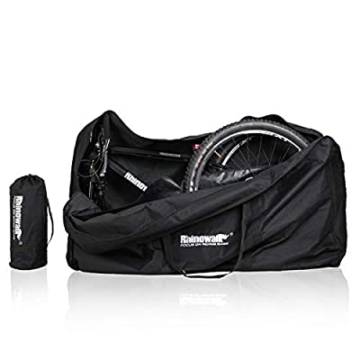 Verpiason Folding Bike Carry Bag for 26-29 inch Folding Bike MTB Road Bike Transport Carrying Case