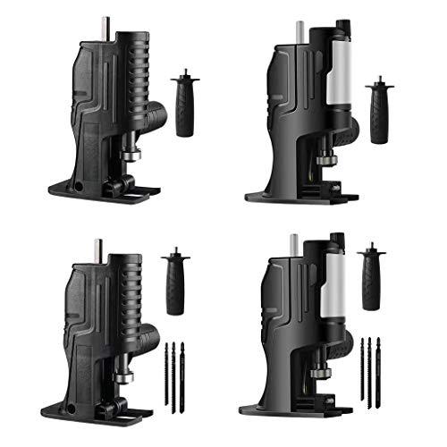 Sierra alternativa, unknows Cabeza de conversión portátil de motosierra de sable de madera cuadrada de PVC máquina de corte de tubo herramienta eléctrica