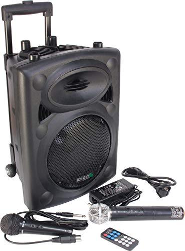 Ibiza Sound PORT8UHF-BT - Megafonía portátil, 8 pulgadas, color negro