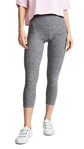 Beyond Yoga Women's High Waist Capri Leggings, Black/White, X-Small