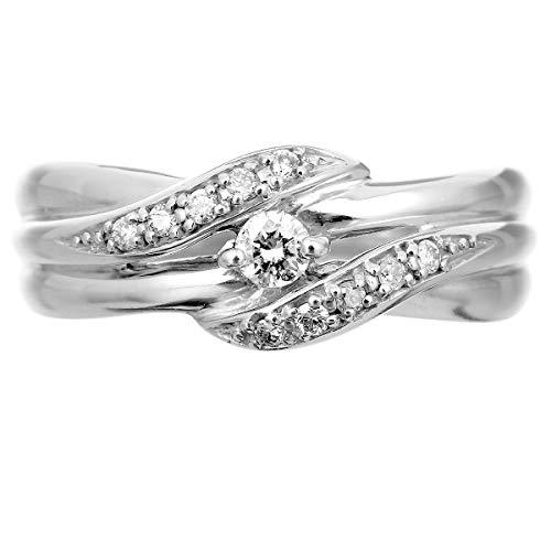 [ココカル]cococaruプラチナ リング ダイヤ リング ダイヤモンド リング 指輪 レディース pt900 ギフト 贈り物 記念日 プレゼント 日本製 品質保証書 金属アレルギー(22)