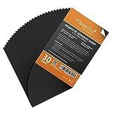 Magicfly Feuille Adhsive Magntique Autocollante Aimante 0.5mm Flexible pour Photos d'Artisanat DIY Couper Art, 30PCS (203mm x 254mm)