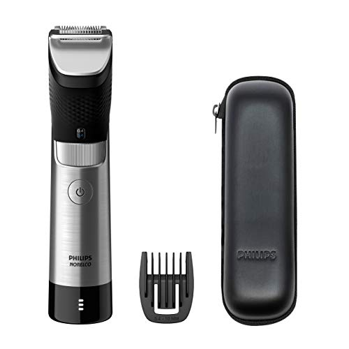 Philips Norelco Ultimate Beard and Hair Trimmer Series 9000, Ultimate Precision Cordless Beard and Hair Trimmer, BT9810/40