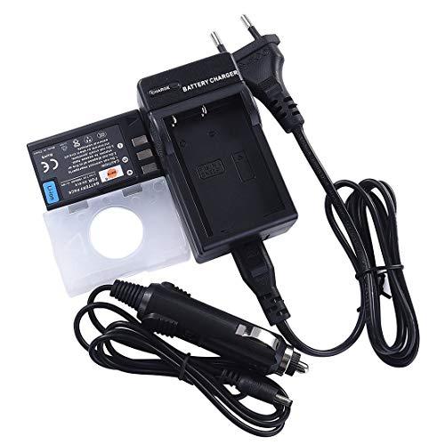 DSTE Repuesto Bater¨ªa y DC15E Viaje Cargador kit para Nikon EN-EL9 EN-EL9A...