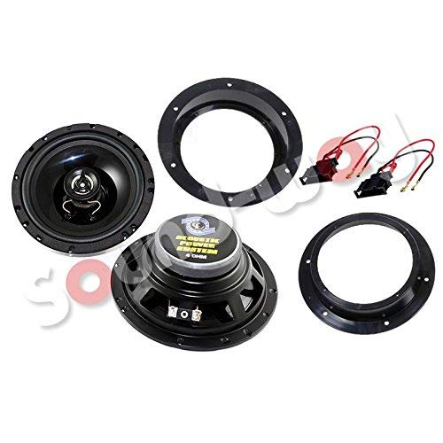 Sound-way Luidspreker-Adapter Speakers Autoradio Frame 16,5 cm compatibel met Volkswagen