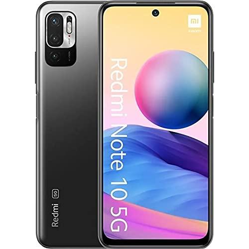 Redmi Note 10 5G Smartphone Dual 5G SIM RAM 4GB ROM 128GB 90Hz 6.5' DotDisplay 48MP Triple Cámara 5000mAh (typ) Batería Gris [Versión en Español]