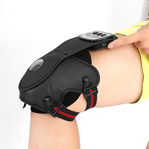 Instrumento de fisioterapia de rodilla, compresor de masaje de rodilla con calefacción por infrarrojos, masajeador de...