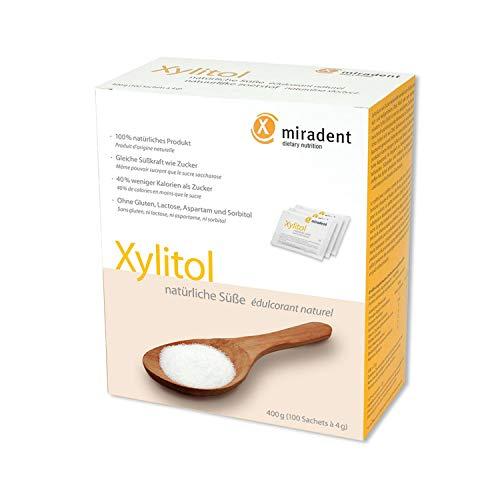 Azucar De Abedul Xylitol En Polvo 100 Sobres De 4 Gramos