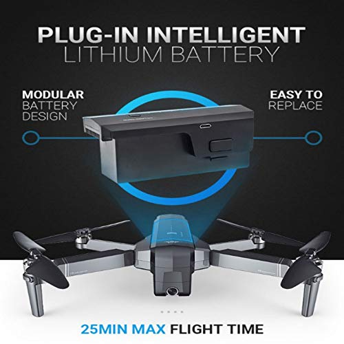 ACHICOO SJ-RC F11 GPS 5G WiFi Mit 1080P Kamera 25 Minuten Flugzeit Brushless Selfie RC Drohne Quadcopter 2 Batterie Gag-Geschenke für Kinder