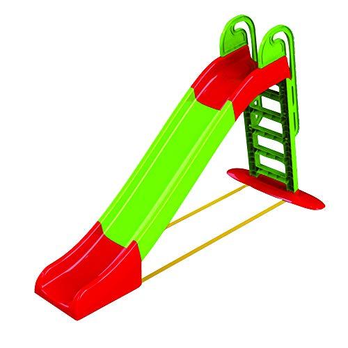 Palmi Scivolo per Bambini Scivolo da Giardino per Bambini Scivolo per Bambini da casa Scivolo Bambini Scivolo da Giardino Grande 240X114(H) cm Verde e Rosso Bimbi 2-6 Anni con scivolata Lunga 240 cm