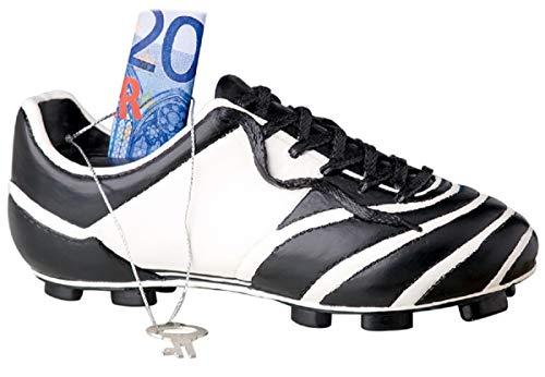 Fußball Spardose Fußballschuh Sparschwein für Jungen Sportverein Fußballspieler Einschulung
