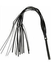 Spanking – látigo y aleta de piel – correa de piel con 14 cuerdas