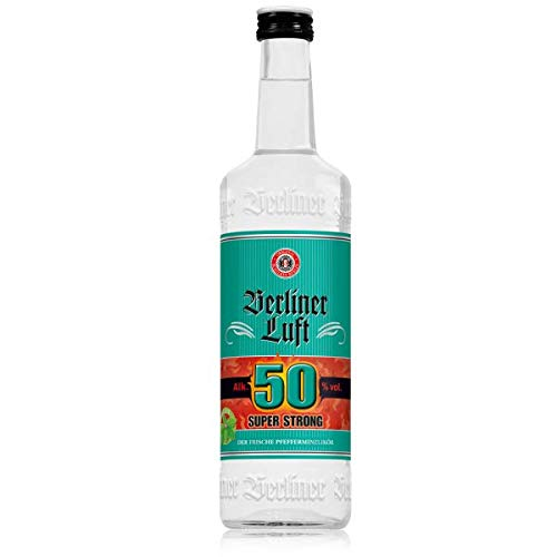 Berliner Luft - Super Strong Pfefferminzlikör 50% vol - 0,7l