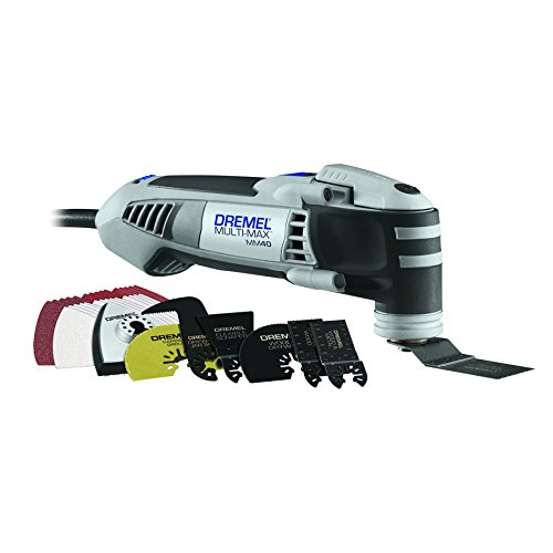Dremel MM40-06 Multi-Max 3.8-Amp Oscillating Tool Kit with Quick-Lock...