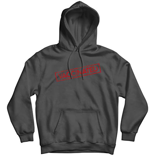 lepni.me Sudadera con capucha Vaccinated Vaccines Saves Lives 2021 Awareness Outfit