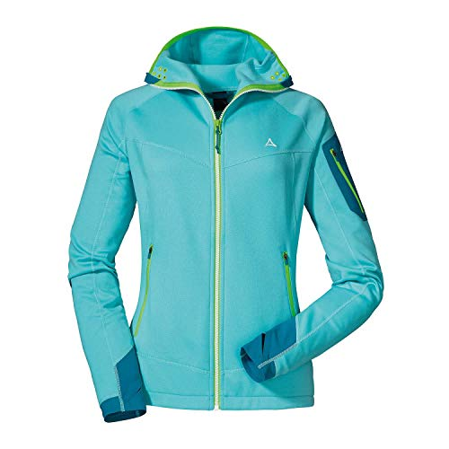 Schöffel Damen Annapolis Fleecejacke, Angel Blue, 36