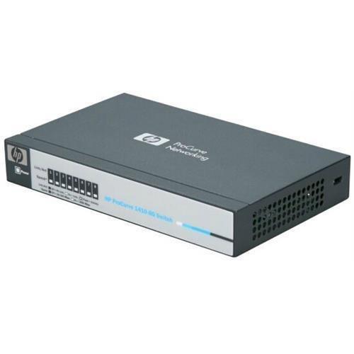 HP ProCurve J9559A#ABA 1410-8G Gigabit Ethernet Switch - 8 Ports - 8 x RJ-45 - 10/100/1000Base-T