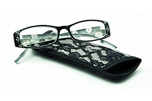 Magnivision Foster Grant Tilly Reading Glasses, Strength Plus 3.00, Bl