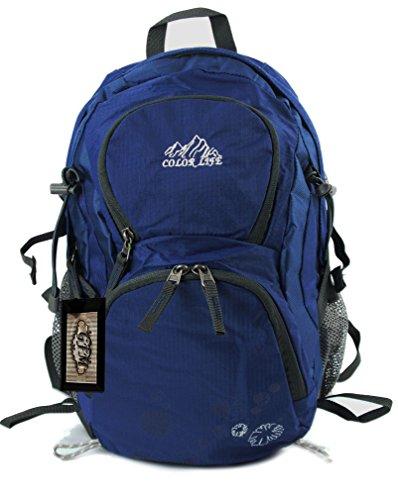 GFM Small Light weight Waterproof Nylon Backpack (SA2) (507-GHNL-Blue)