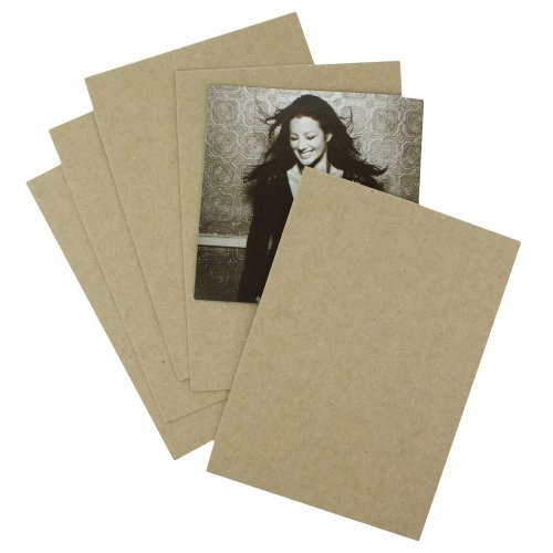 200 EcoSwift 8.5x11 Chipboard Cardboard Craft Scrapbook Material Scrapbooking Packaging Sheets Shipping Pads Inserts 8 1/2 inch x 11 inch Chip Board
